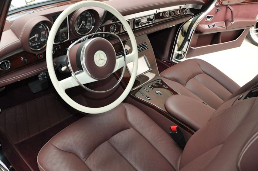 mercedes benz 600 interior